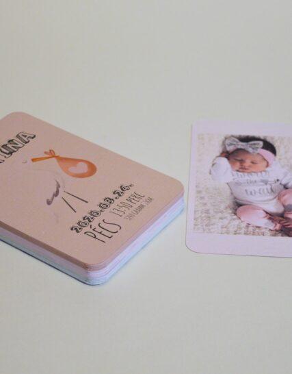 Babakártya (mérföldkő kártya) #1