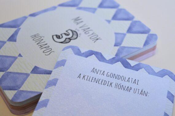 Babakártya (mérföldkő kártya) #3